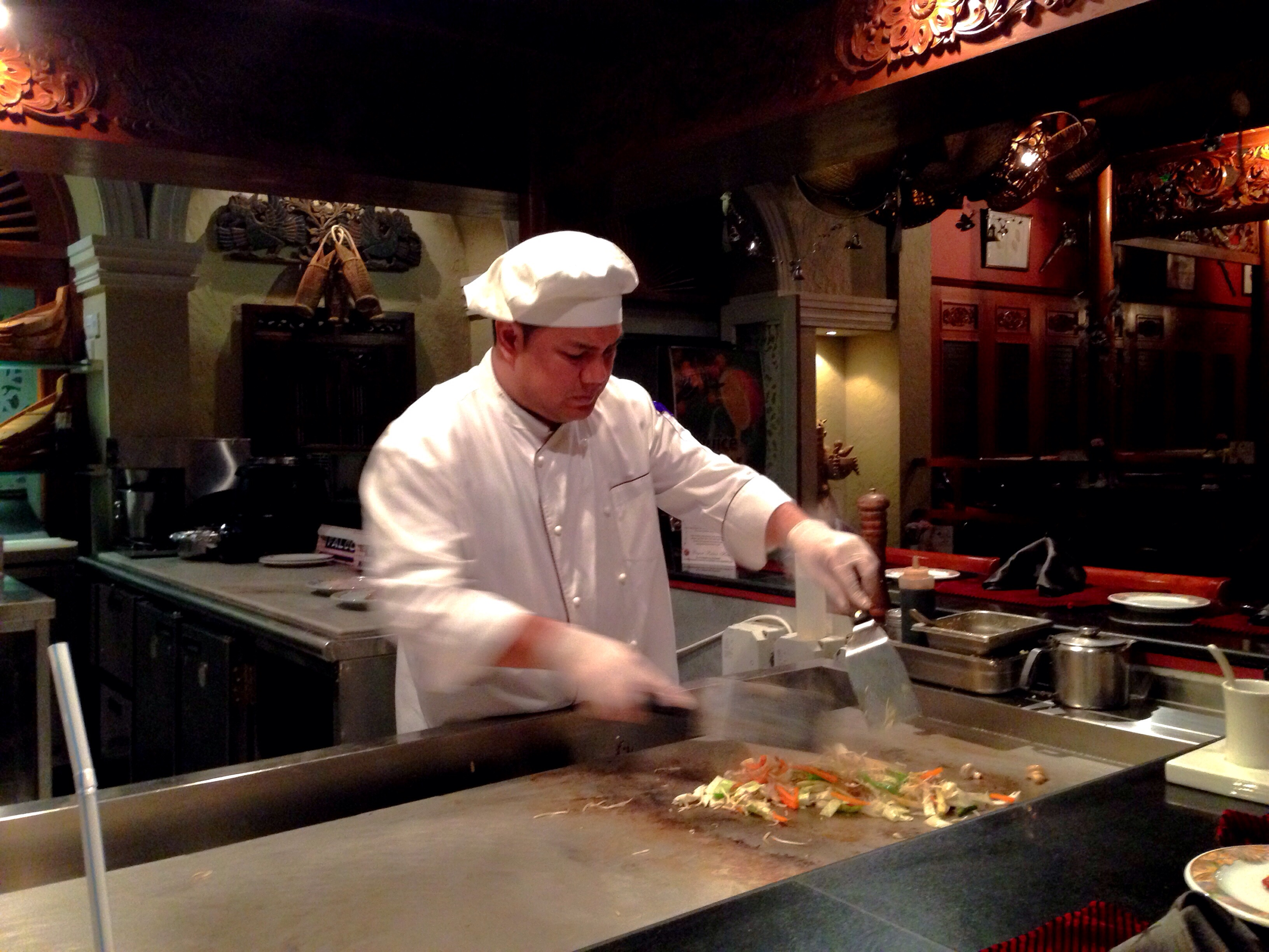 teppanyaki at FarEast Seafood
