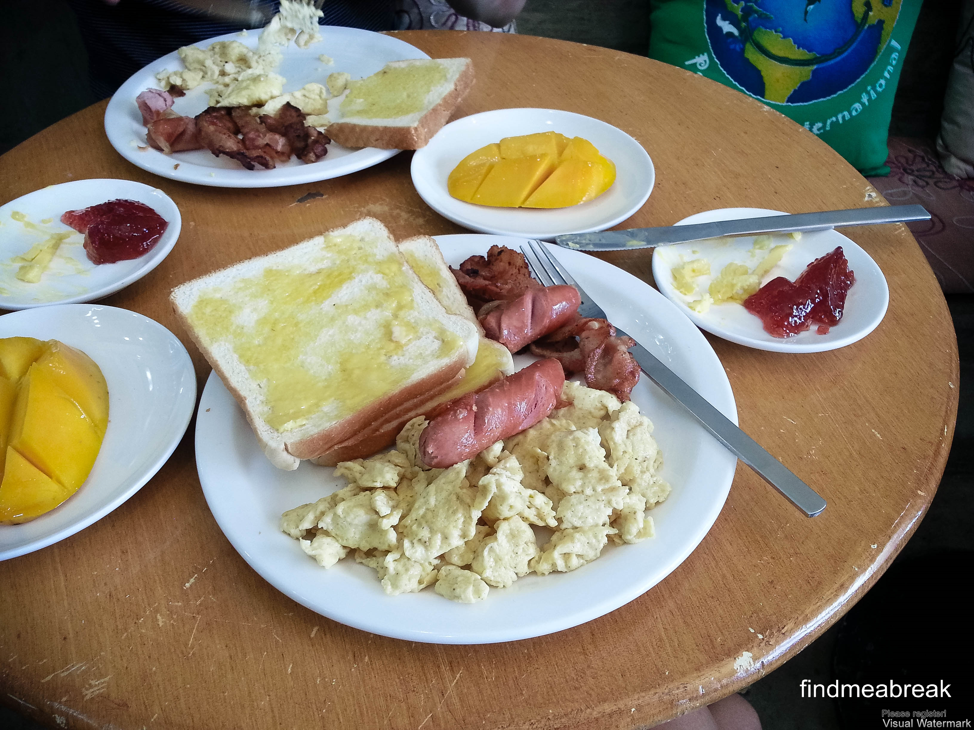 English Breakfast in boracay