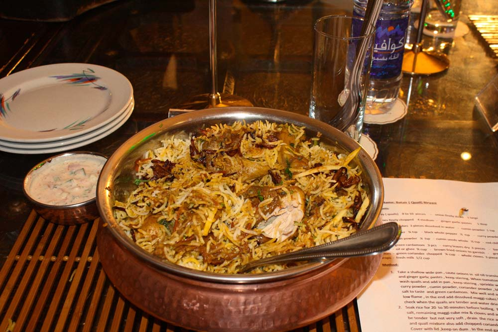Cooking contest Biryani