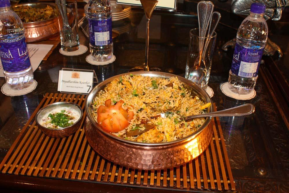 winning recipe of Biryani