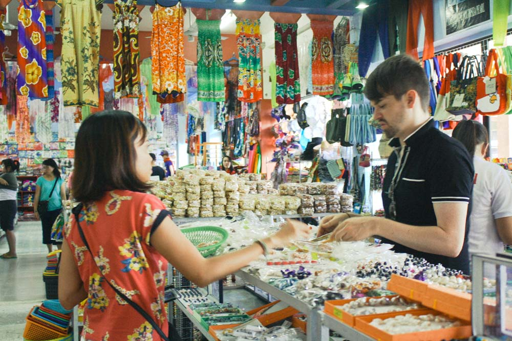 Buying Souvenirs Palawan