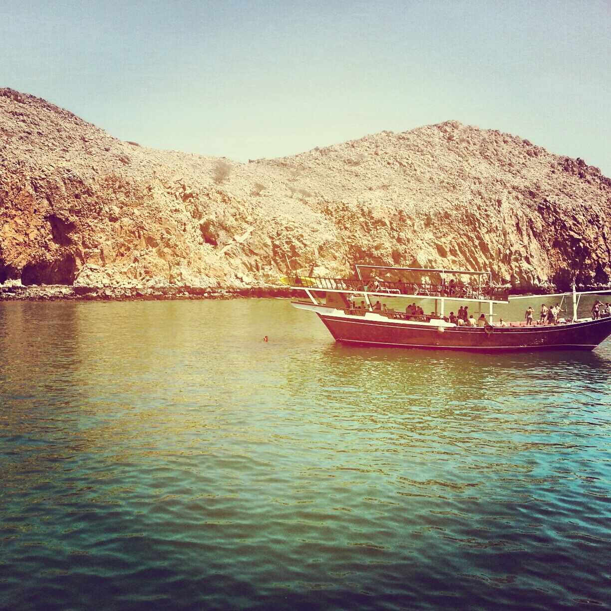 dhow cruise in musandam