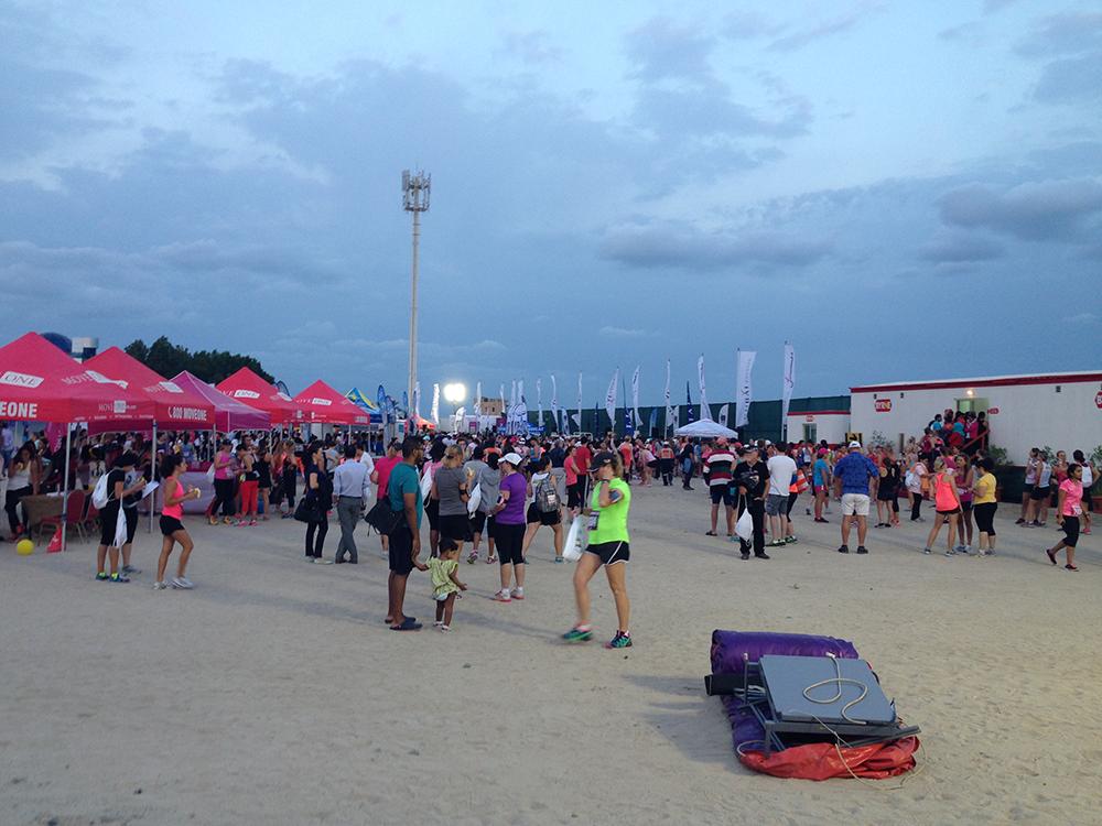 Jumeirah Beach Road for Dubai Womens run