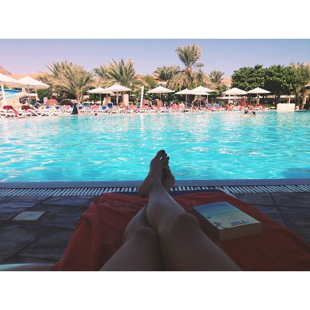 Swimming pool holiday uae