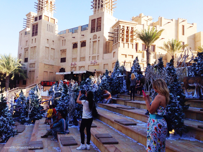 Winter wonderland Souq madinat