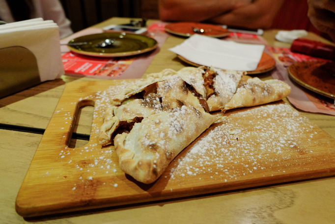 Chocolate Calzone