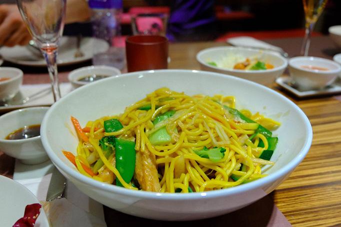 Singaporean Noodles