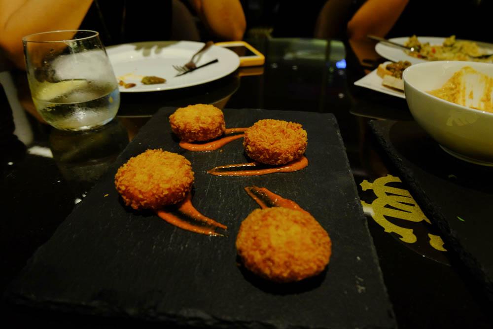 Breaded Mozarella and anchovies
