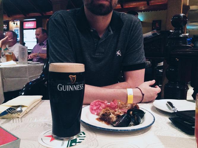 Guinness Longs Bar Buffet