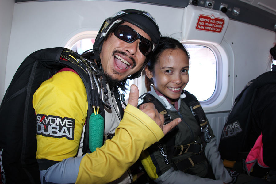 Sky Dive Dubai Tandem