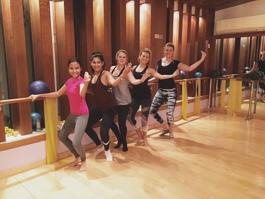 Last nights Booty barre was so much fun! Free classhellip