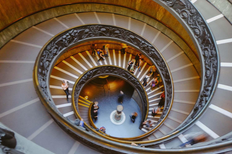 Bramante spiral staircase